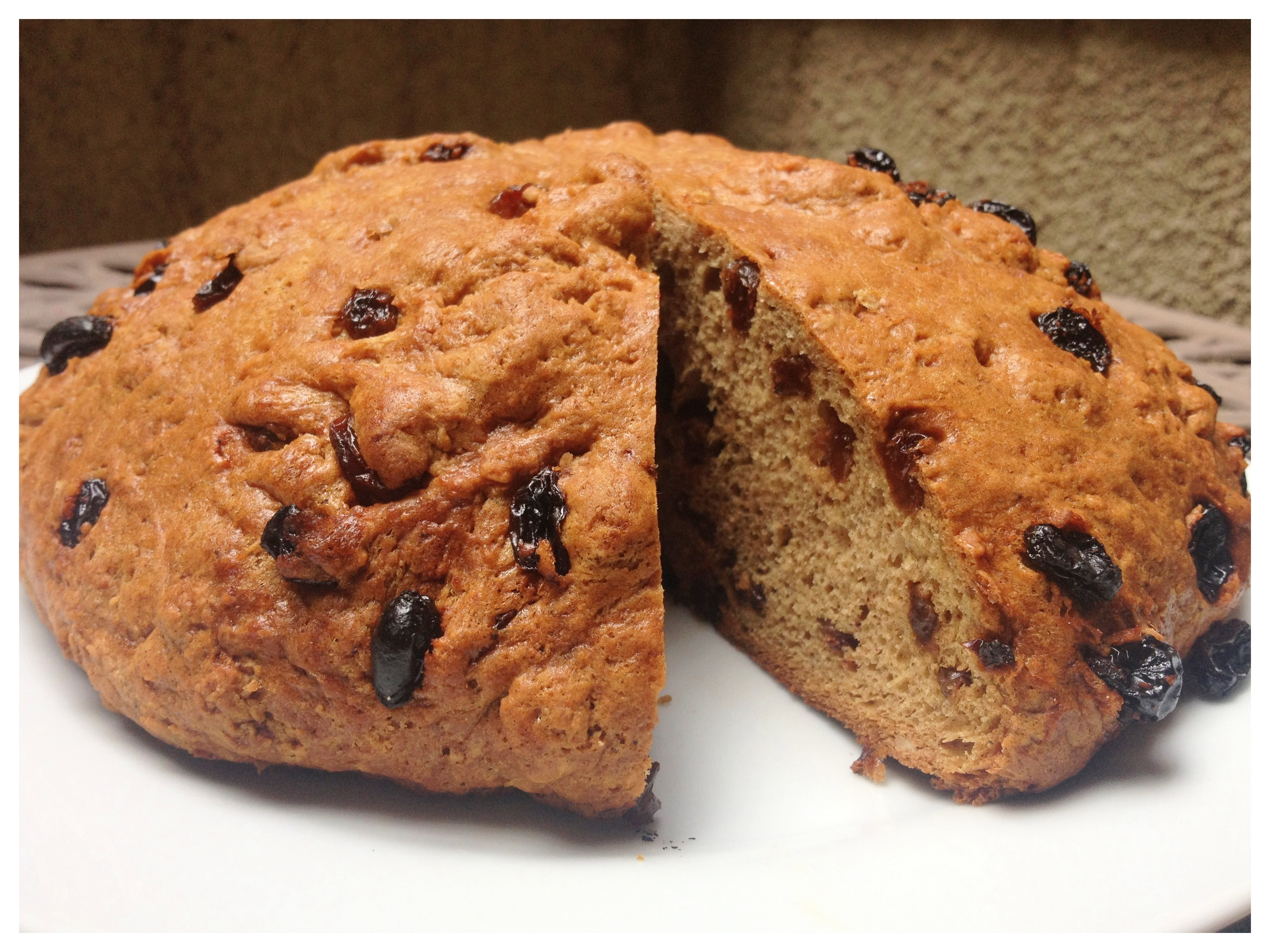 Gluten Free Dairy Free Irish Soda Bread
